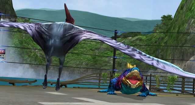 File:Pteranodon and Limnoscelis in the Arena.jpeg