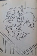Jurassic Park A Coloring Book 3