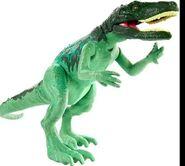 Mattel Green Herrerasaurus Repaint