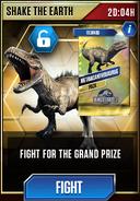 Shake the Earth-Metriacanthosaurus