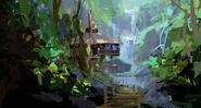 Camp Cretaceous Lodge Concept Art 8