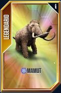 Mammuthus card legendario especial