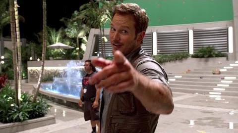 Chris Pratt's Jurassic World Journals Whistle (HD)