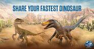 Fastest Dinosaur JWA