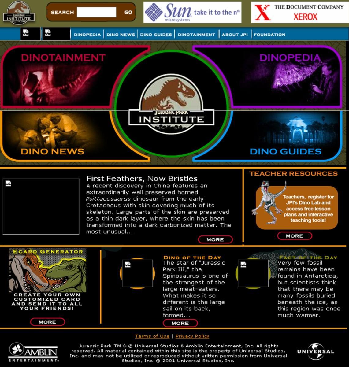 Jurassic Park  Lost World Drinking Game