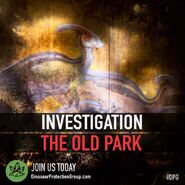 DPG - Investigating the old park