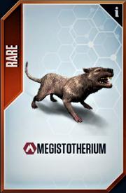 Megistotherium Card