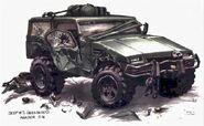 Hunter jeep3 damaged