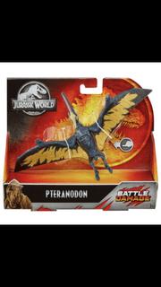 Mattel BD Pteranodon Packaging