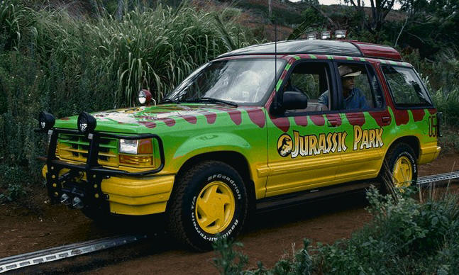 CITY SERIES MOC-25912 Jurassic Park-Tour Vehicle (Ford Explorer) by Miro MOCBRICKLAND
