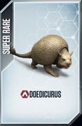 Doedicurus Card