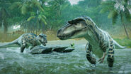 Albertosaurus-Evolution