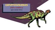 Jurassic park jurassic world guide gryposaurus by maastrichiangguy ddlnmpr-pre