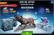 Megistotherium Special Offer