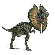 Dilophosaurus-dinosaurs