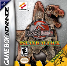 Jurassic Park III - Island Attack Coverart