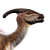Parasaurolophus Icon Evolution