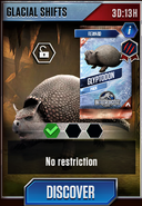 Glacial Shifts (Glyptodon) Event
