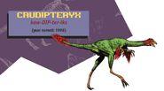 Jurassic park jurassic world guide caudipteryx by maastrichiangguy ddl96x9-pre