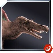 Spinosaurus icon JW