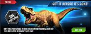 Tyrannosaurus Offer News