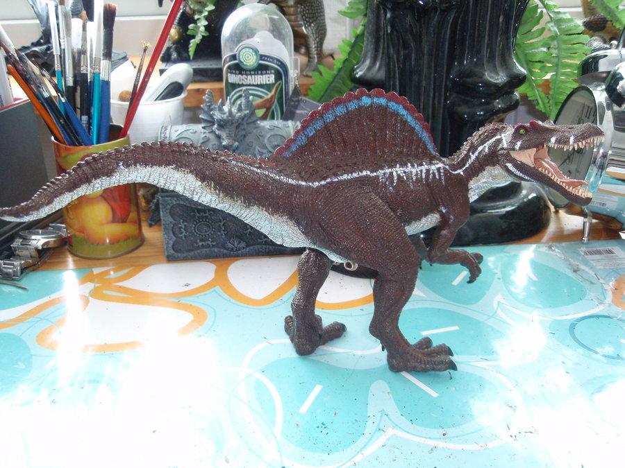 Brand-new Image - Custom JP 3 Papo Spinosaurus by hellraptor.jpg | Jurassic  YX78