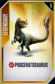 Proceratosaurus Card