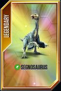 Segnosaurus card