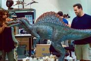 Макетспинозавра