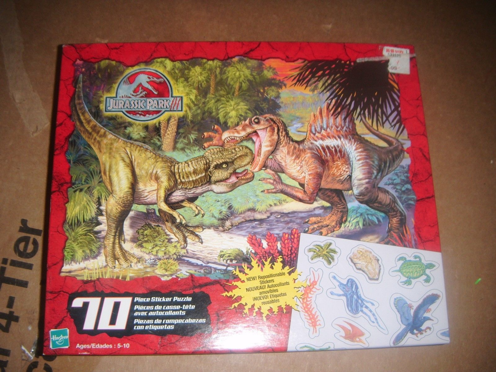 Jurassic Park 3 Hasbro Rompecabezas Jurassic Park Wiki Fandom