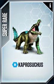 Kaprosuchus Card