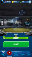 Blue Hologram JWA