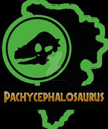 01 pachycephalosaurus paddock jp by luigicuau10-d8ul7e5