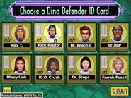Jurassic Park 3 Danger Zone Dino Defender ID Cards