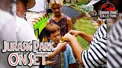 Jurassic Park On Set