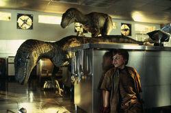 Jurassic Park raptors