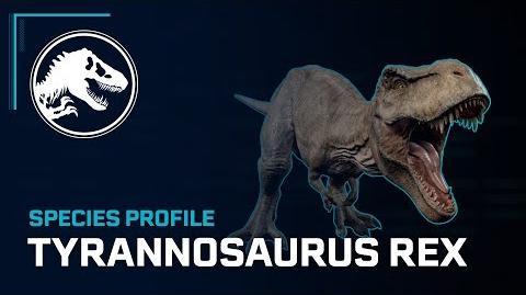 Species Profile - Tyrannosaurus Rex-0