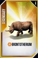 Brontotherium Card