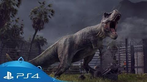 Jurassic World Evolution Announcement Trailer PS4