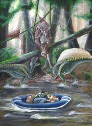 Jurassic park novel illustration 2 by eatalllot-d9xci96
