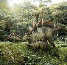 The family of stegosaurus by willdynamo55-dbg9dxy