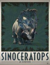 Sinoceratops poster