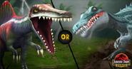 Spinosaurus or Suchomimus