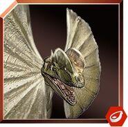 Dilophosaurus icon JW