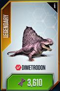 Dimetrodon Card