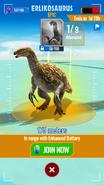 Erlikosaurus Map
