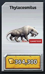 Jurassic-Park-Builder-Thylacosmilus