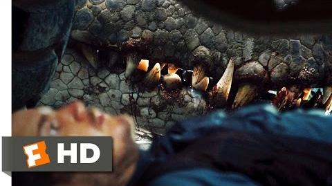 Jurassic World (2 10) Movie CLIP - It's In There With You (2015) HD