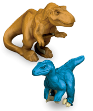 Jwm TyrannosaurusVelociraptor