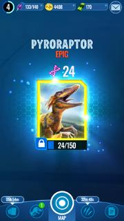 Pyroraptor DNA